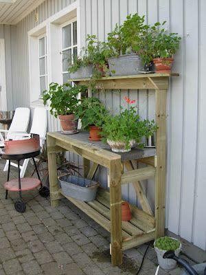 Pelargonernas Rike: Planteringsbord