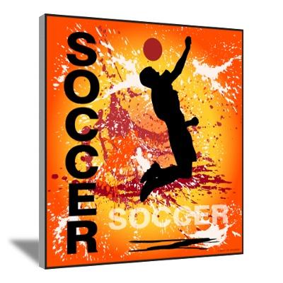 Boys Soccer 1 Canvas Art