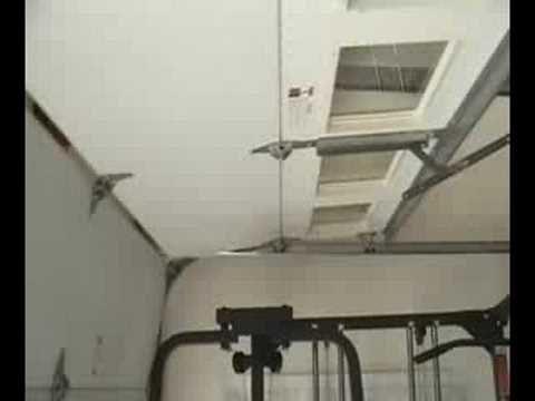 how fast can a burglar break in to your garage garage door