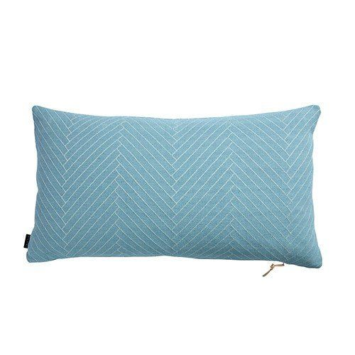 OYOY herringbone cushion dusty aqua / Rectangle cushions / gorgeous blue cushion for your home / Danish designer / styled decor