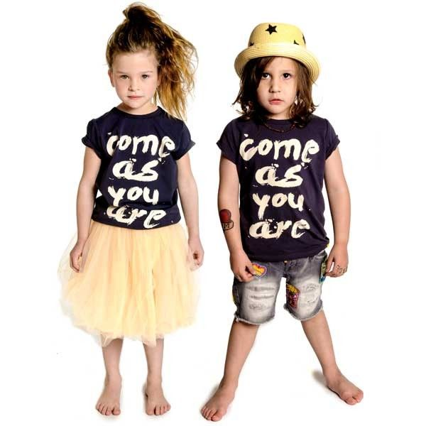 Come As You Are tees, Dogtown Skater shorts and Fairy Floss skirt | Rock Your Baby summer 2013