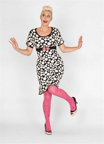 Køb Margot kjole Violet Sparkle 00599 online hos denckerdeluxe