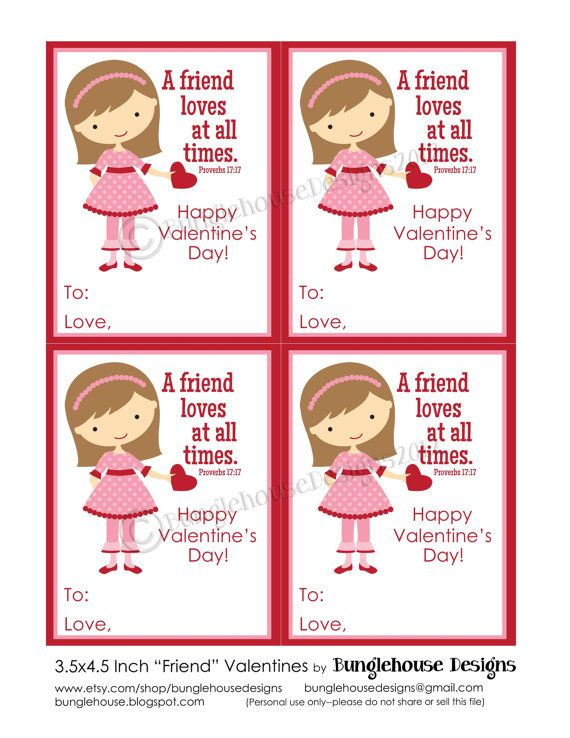 192 best images about Scripture Cards – Christian Valentine Cards for Kids