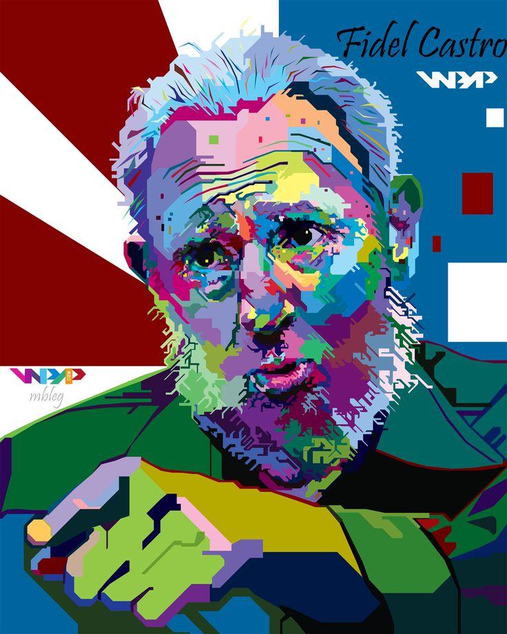 Fidel Castro in wpap