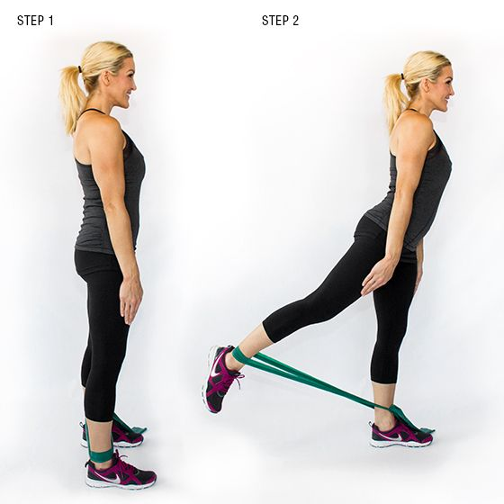 how to build a butt withouot bending knees