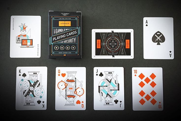 Deck View: Armor (Series 5) Playing Cards