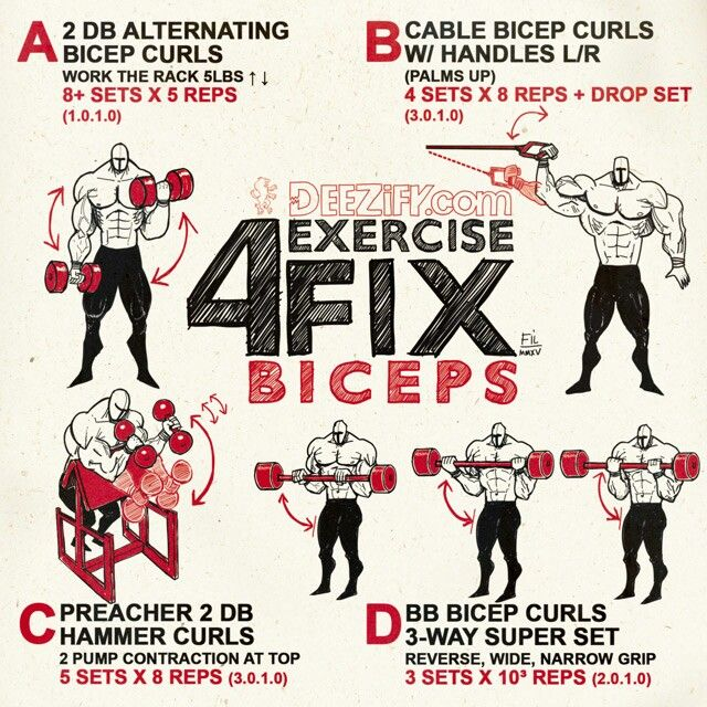 Blow up your arms with my 4 EXERCISE FIX: BICEPS #biceps #wod #workout #arms #fitness #bodybuilding