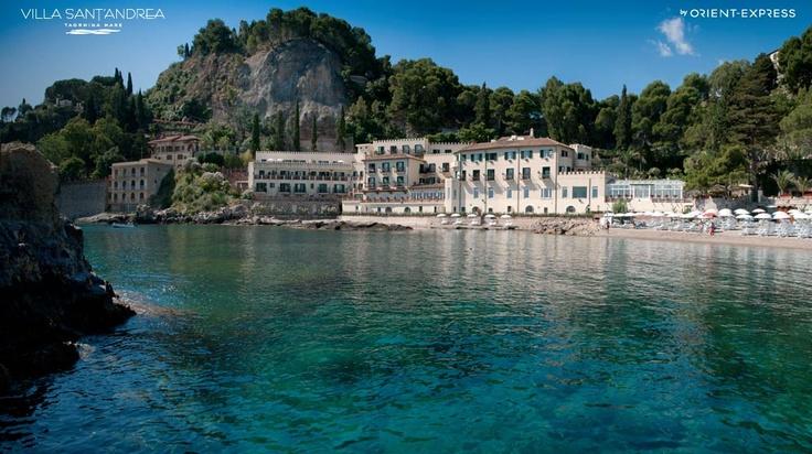 Villa Sant'Andrea - Orient-Express Hotels #villasantandrea #taormina #sicilia #orientexpress #hotels