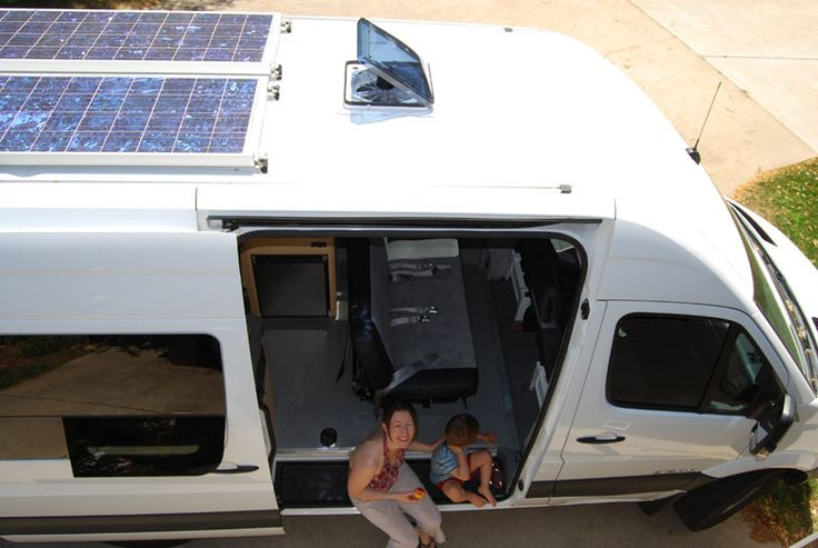 Our Sprinter Campervan Conversion Uses Diesel And Solar Power Only