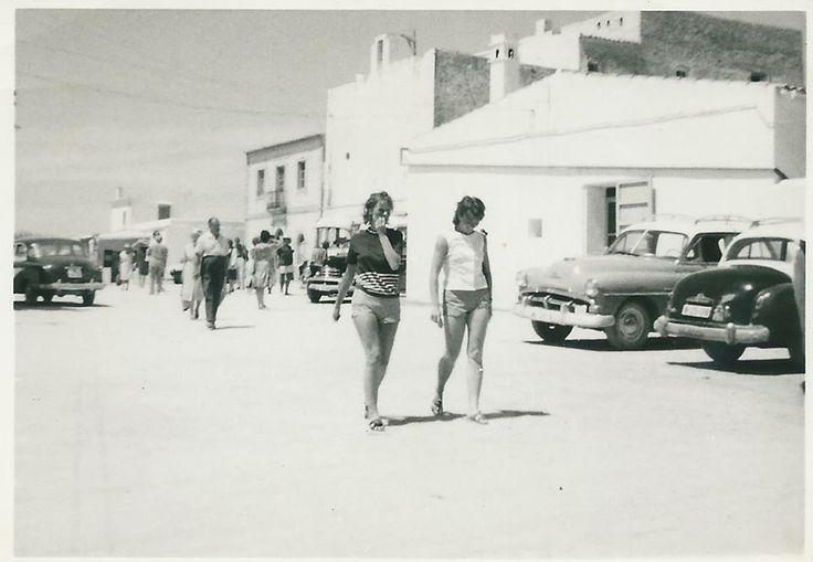 Sant Francesc, anys 60 / Sant Francesc in the 60's #Formentera #IbizaAntigua