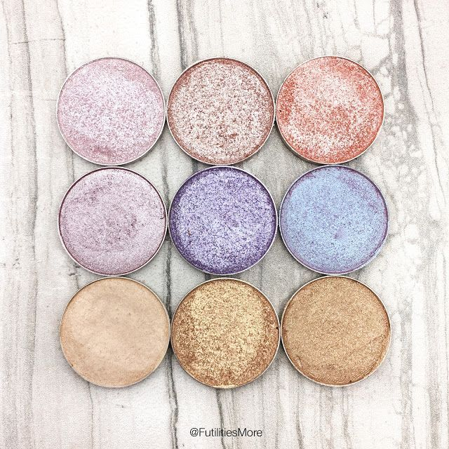 Makeup Geek pastel shimmery eyeshadows pictures and swatches Maybe something for https://Addgeeks.com ?