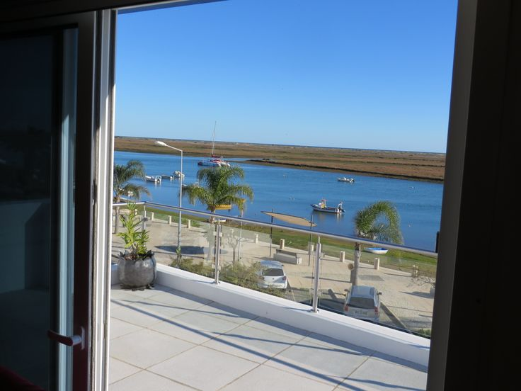 View from the front bedroom across the magnificent #Ria #Formosa