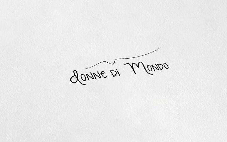 """Logo """"Donne di Mondo""""  #graphicdesign #logo #donnedimondo"""