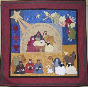 Joy to the World Quilt Kit