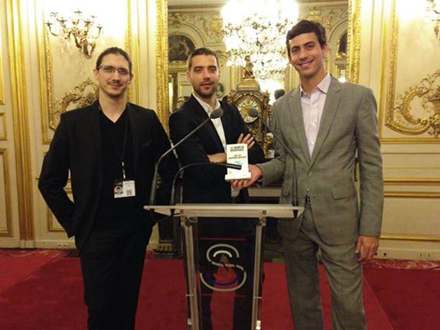 Weblib lauréat de Tremplin ESSEC 2013 au Sénat