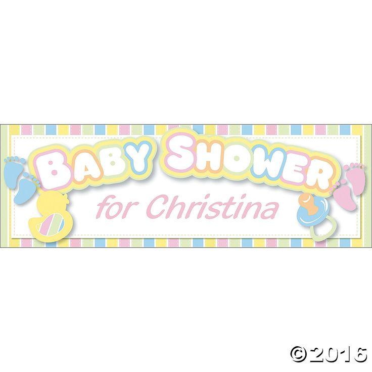 Baby Shower Custom Banners: 21 Best DIY Food Labels Images On Pinterest