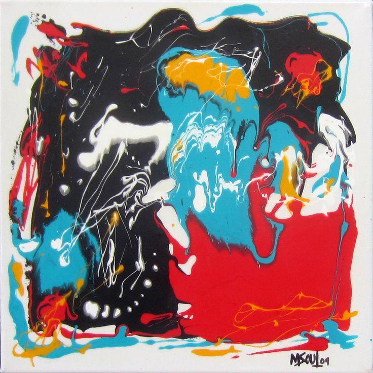 Folie par Michel Soulières, artiste présentement exposé aux Galeries Beauchamp. www.galeriebeauchamp.com