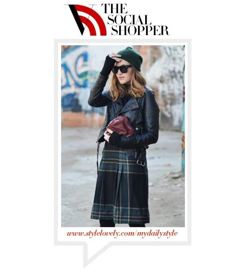 The Social Shopper: Personality Plaid - Guides - Vogue