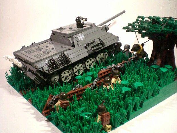 Lego WW 2 jagd panther