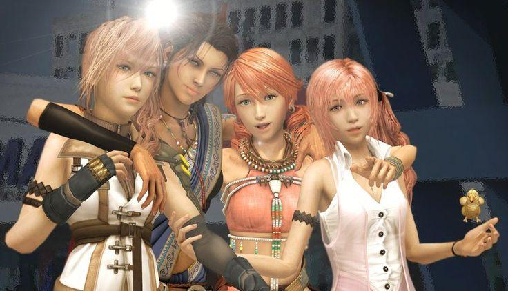 Lightning x serah sisters love final fantasy xiii 3d no audio cartoon 3d porn games - 5 10