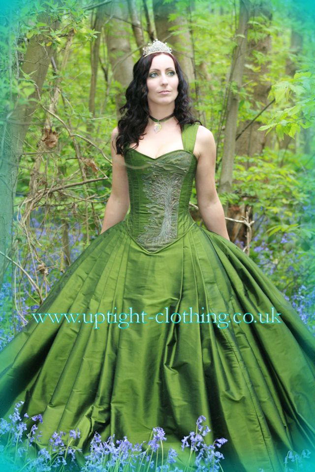 137 best woodland fairy costume ideas images on pinterest for Fairytale ball gown wedding dresses