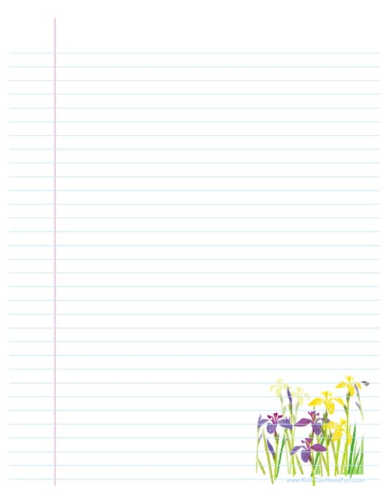 103 best Stationary images on Pinterest Writing paper, Letters - lined letter paper