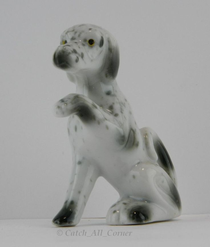 Small Porcelain Dog Figurines