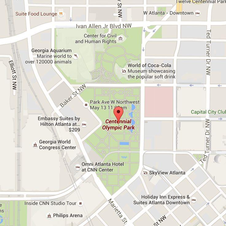 Centennial Park Google Map Image Shakey Knees Festival