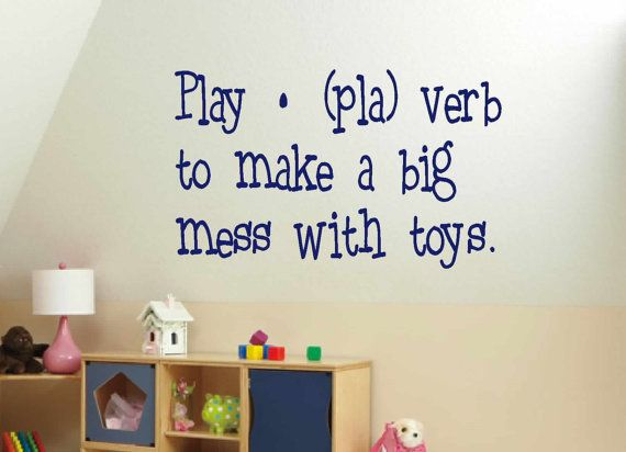 Wall Art Kids Wall Decal Childrens Playroom By VinylWallQuotes, $16.00  Https://www Part 74