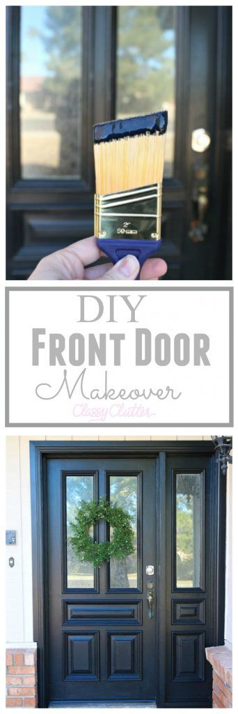 Updating My Curb Appeal by Painting My Front Door - Classy Clutter