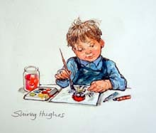 Shirley Hughes - The Illustration Cupboard