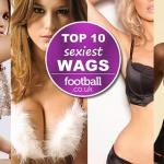 The top football WAGS of 2012