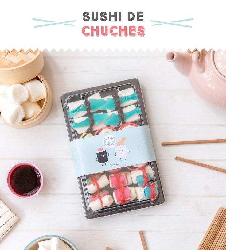 Descargable - Sushi de chuches. | by Mr. Wonderful*