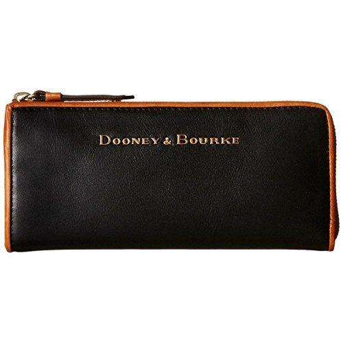 (ドゥーニーアンドバーク) Dooney & Bourke レディース アクセサリー 財布 City Zip Clutch 並行輸入品  新品【取り寄せ商品のため、お届けまでに2週間前後かかります。】 表示サイズ表はすべて【参考サイズ】です。ご不明点はお問合せ下さい。 カラー:Black/Natural Trim