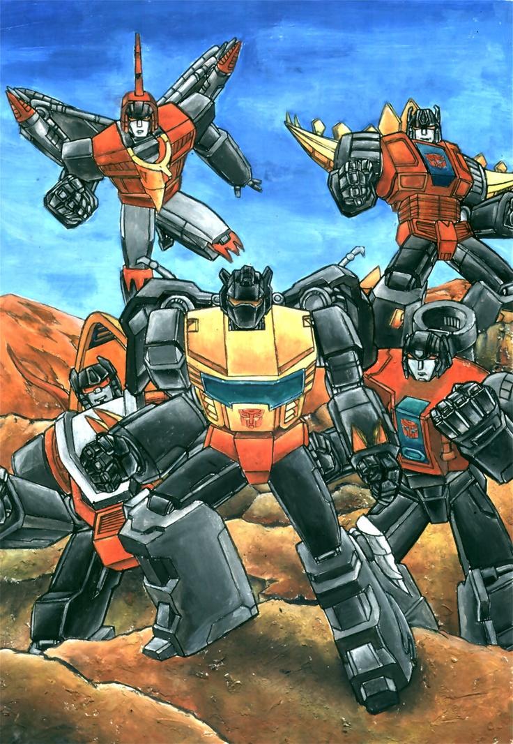 Transformers generation 1 Dinobots by grim1978.deviantart.com on @deviantART