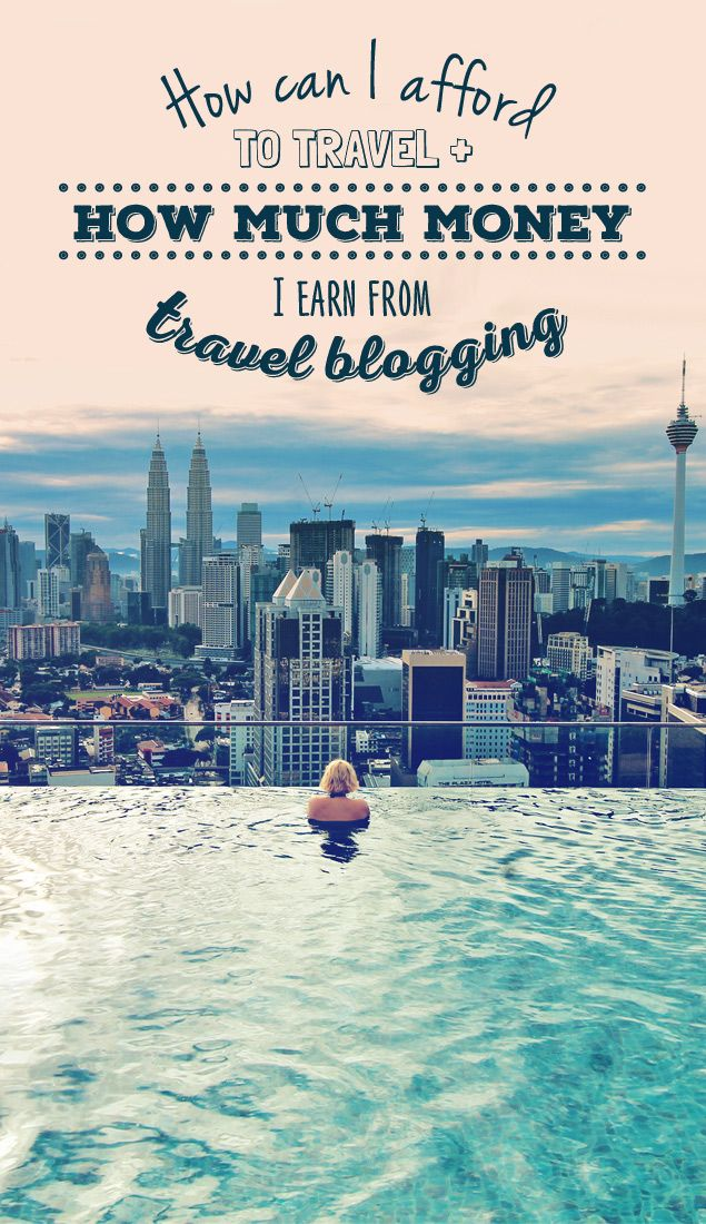 """How can you live a life of travel and earn money while traveling?"""" I hear this question almost on a daily basis. It's time to explain the details... """"How can I afford to travel and how much money I earn from Travel Blogging - """" - via @Just1WayTicket"""