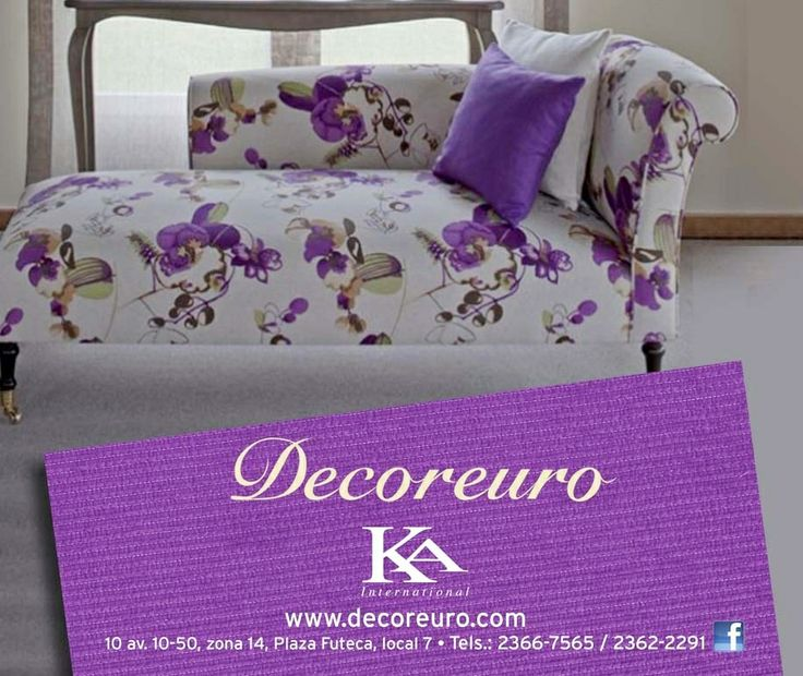 Telas ka international exclusivamente en decoreuro las - Telas para tapizados de muebles ...