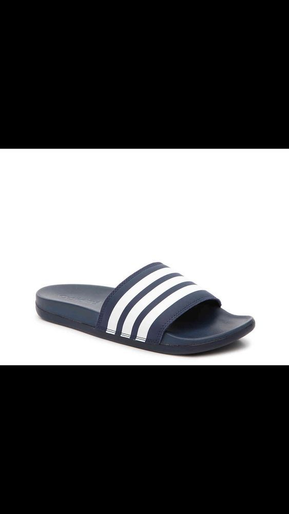 adidas Neo Men's Cloudfoam Adilette Slide Sandals #fashion