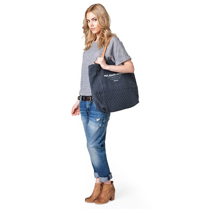 #brandpl #new #accessories #bag #pepejeans #women #womencollection #jeans #denim #look #uma #navy