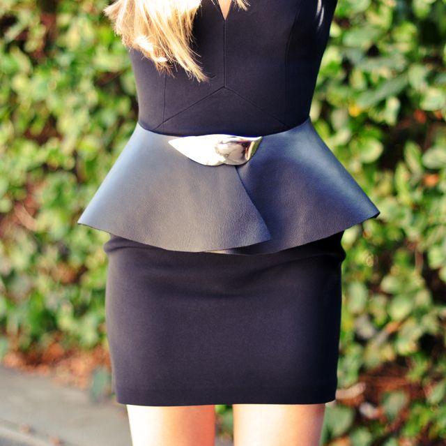 ...love Maegan: DIY Leather Peplum Belt {w/ vintage buckle} Fashion. DIY. Lifestyle.