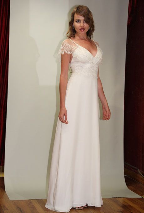 Brides: Angelo Lambrou - Fall 2012 | Bridal Runway Shows | Wedding Dresses and Style | Brides.com