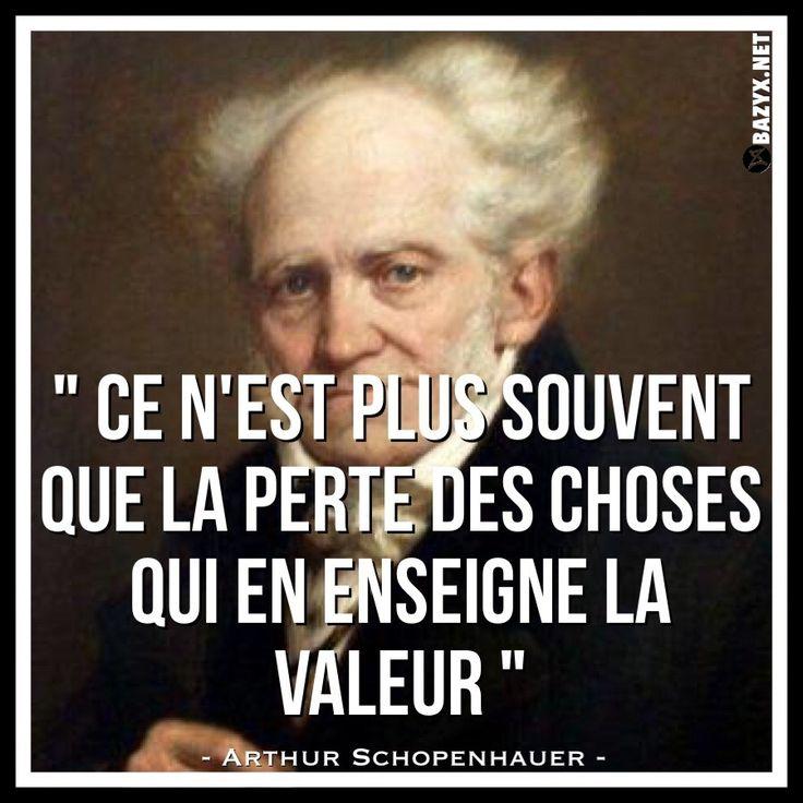 - Arthur Schopenhauer -