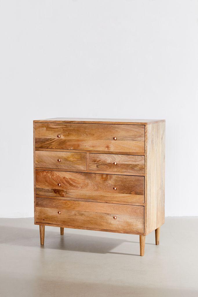 Regan Mixed Drawer Dresser Urban Outfitters In 2020 Dresser Drawers Furniture Scandinavian Dresser