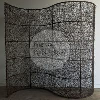 Woven curvy screen #eventhire