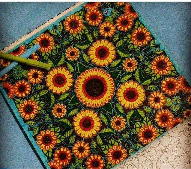Johanna Basford Art Therapy Coloring Books Adult Colouring Secret Gardens Joanna Garden Colour Book Colored Pencils