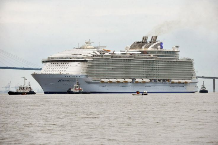 Harmony of the Seas, la nave da Guinness - Repubblica.it