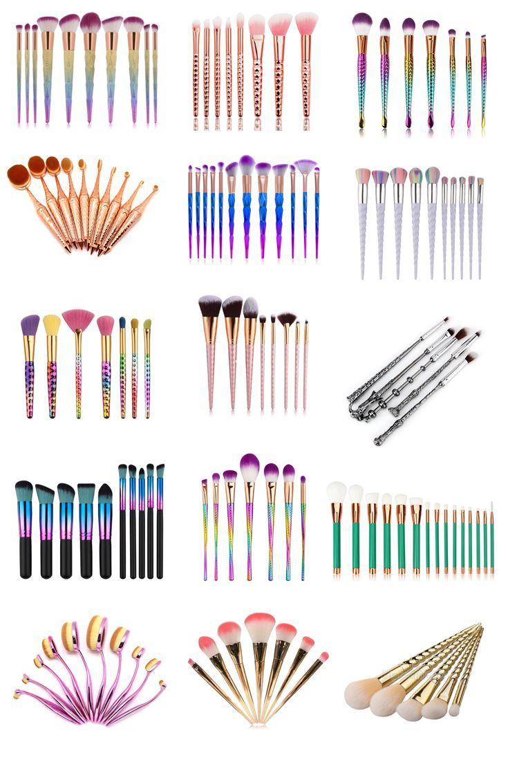 15 Makeup Brush Sets That Are Under £10 Makeup