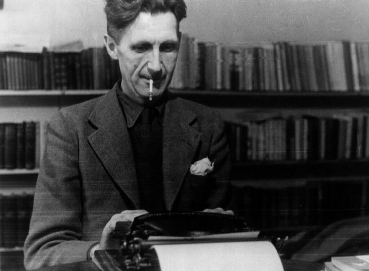 What is George Orwell's typical writing style/structure/technique/message?