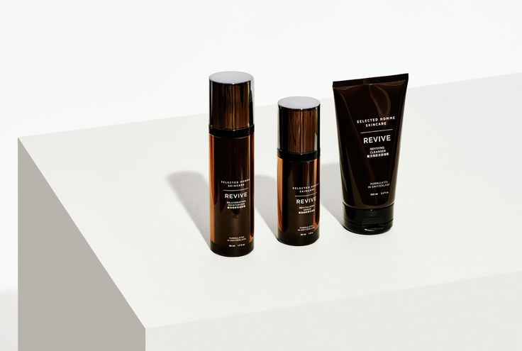 Selected Homme – Revive skincare collection - homework