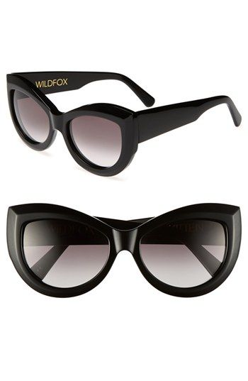 Wildfox 'Kitten' 56mm Sunglasses | Nordstrom